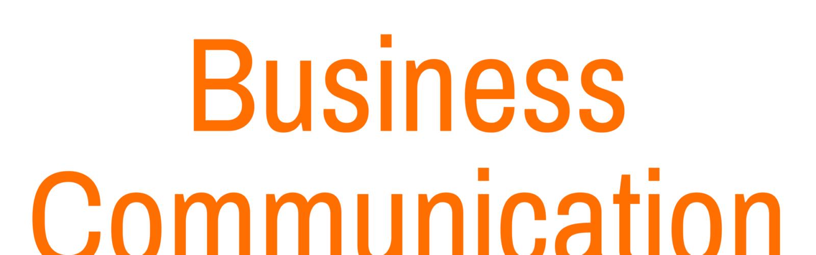poslovna komunikacija na engleskom